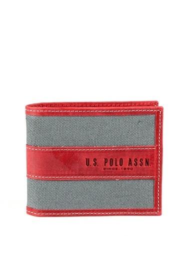 U.S.Polo Assn. Cüzdan Gri